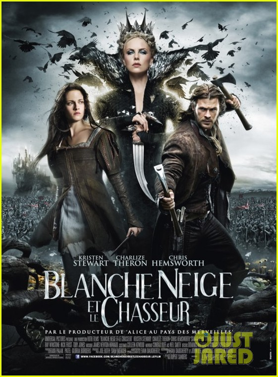 kristen stewart snow white french poster