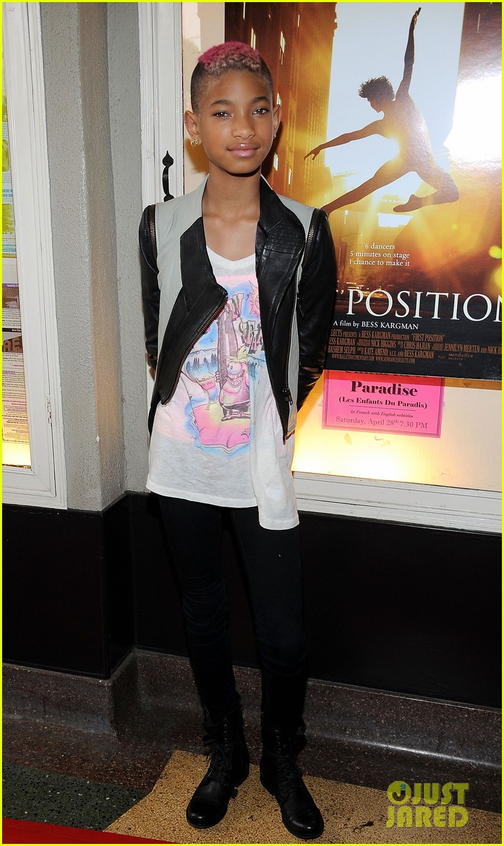 willow smith first position premiere 17