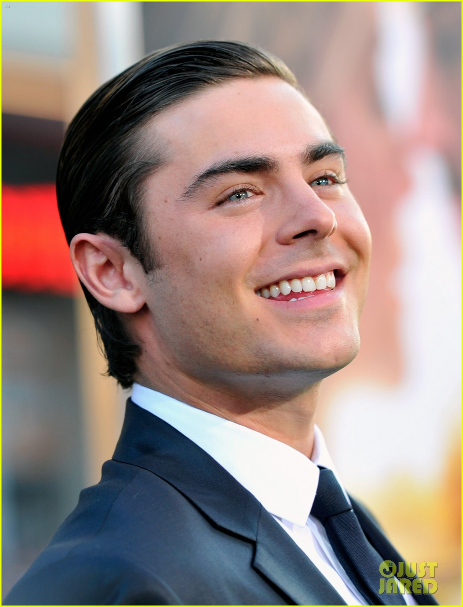 zac efron lucky one premiere 21
