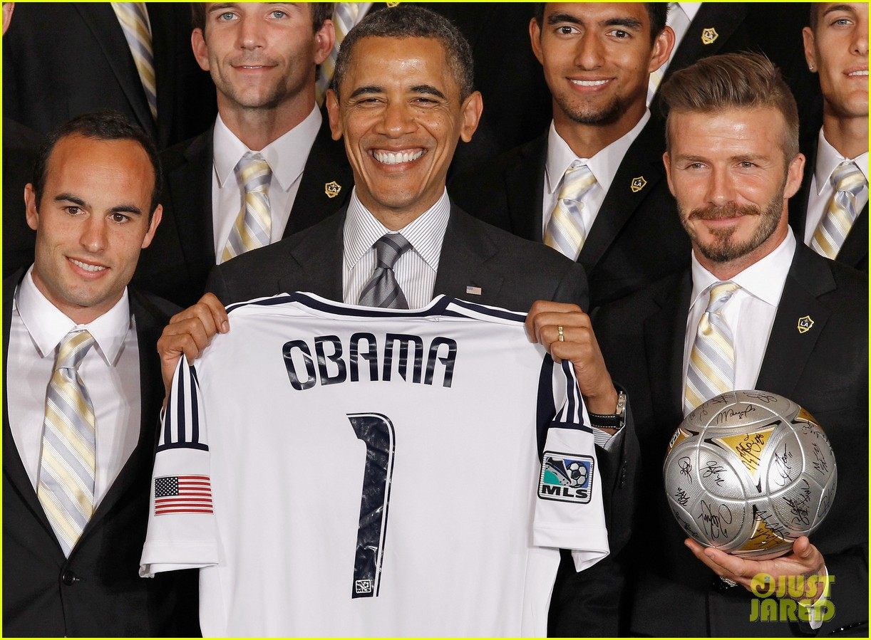 david beckham la galaxy honored by president obama 00