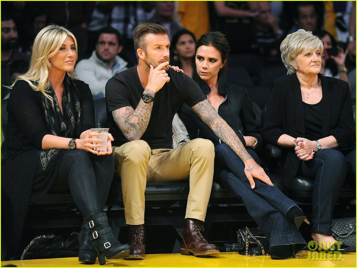 david victoria beckham lakers lovers 01