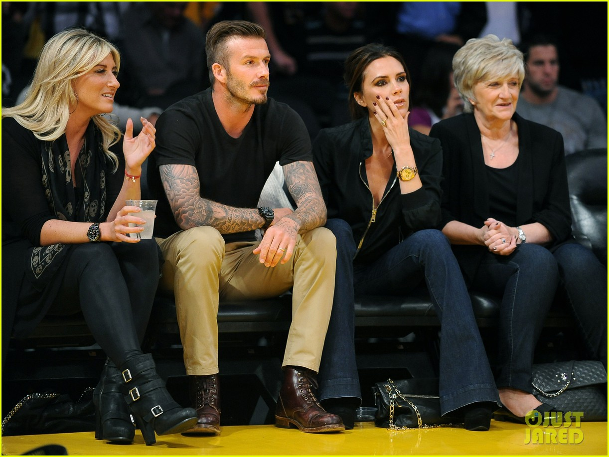 david victoria beckham lakers lovers 06