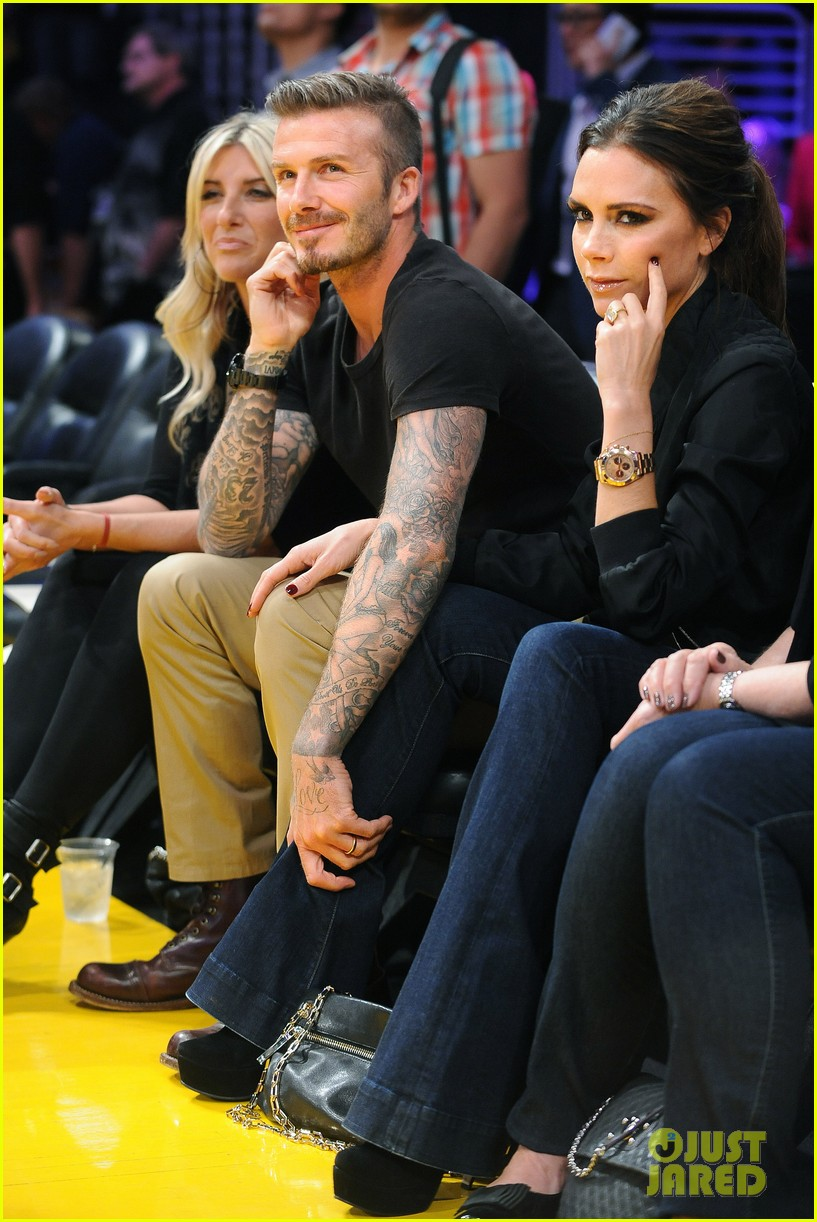 david victoria beckham lakers lovers 07