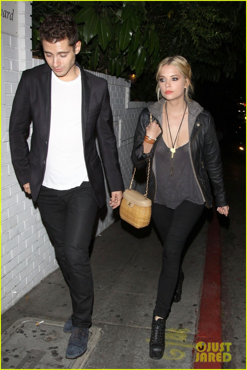 ashley benson leaving marmont 022667032