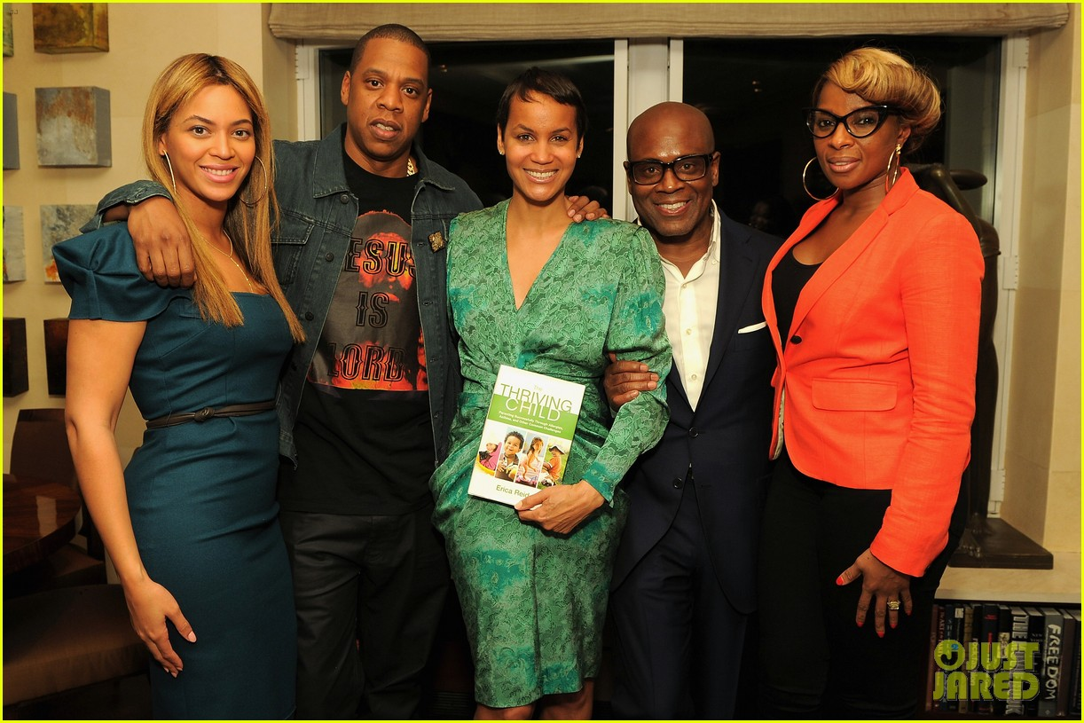 beyonce jay z eric reid book launch party 052659426