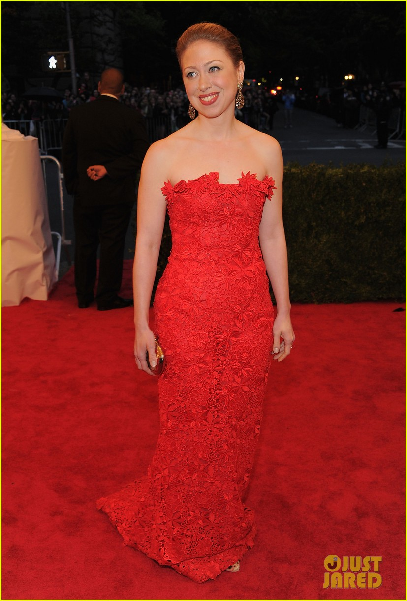 chelsea clinton met ball 2012 05