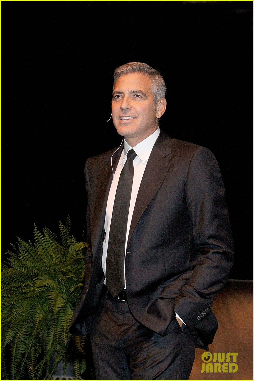 george clooney talk houston 01