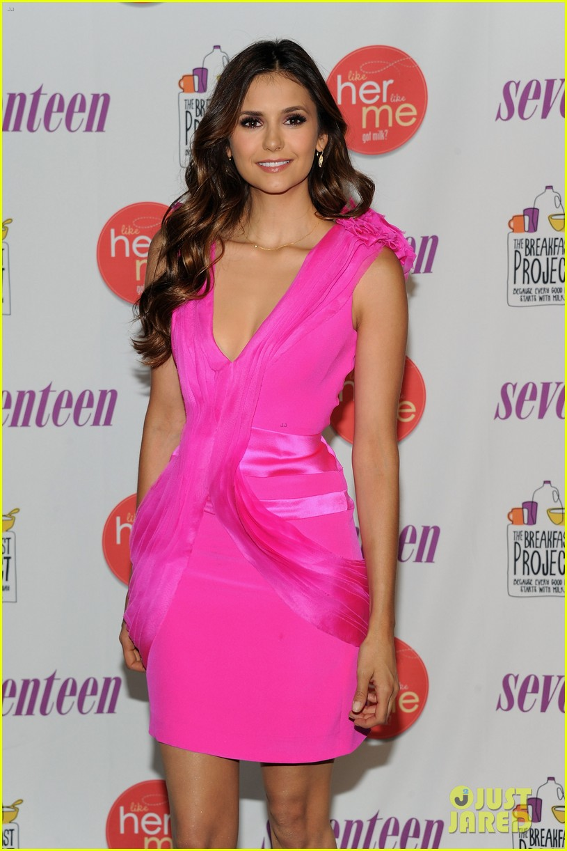 nina dobrev like me like her launch 10