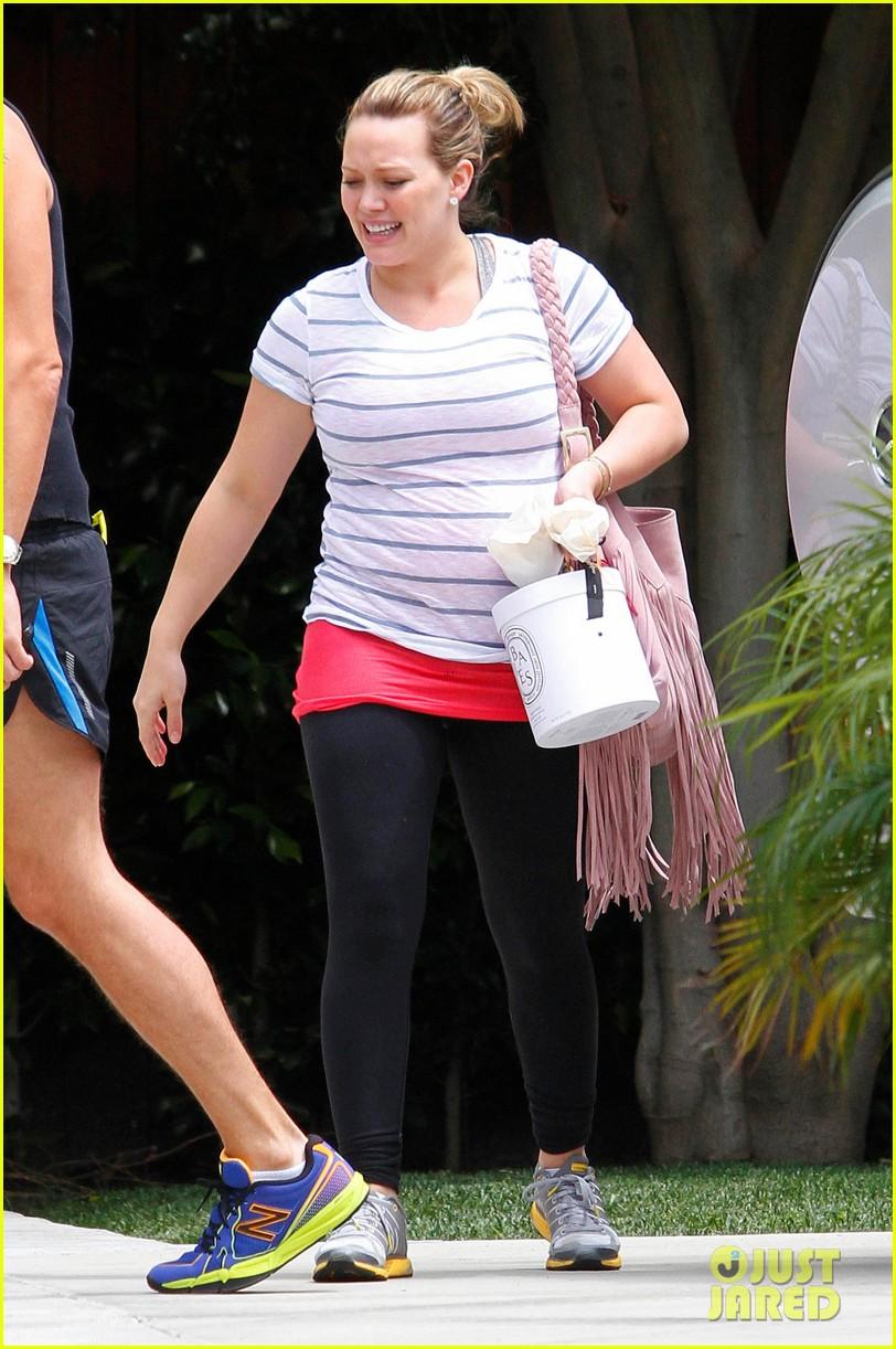 Full Sized Photo of hilary duff gym hollywood 07 | Photo ... Hilary Duff