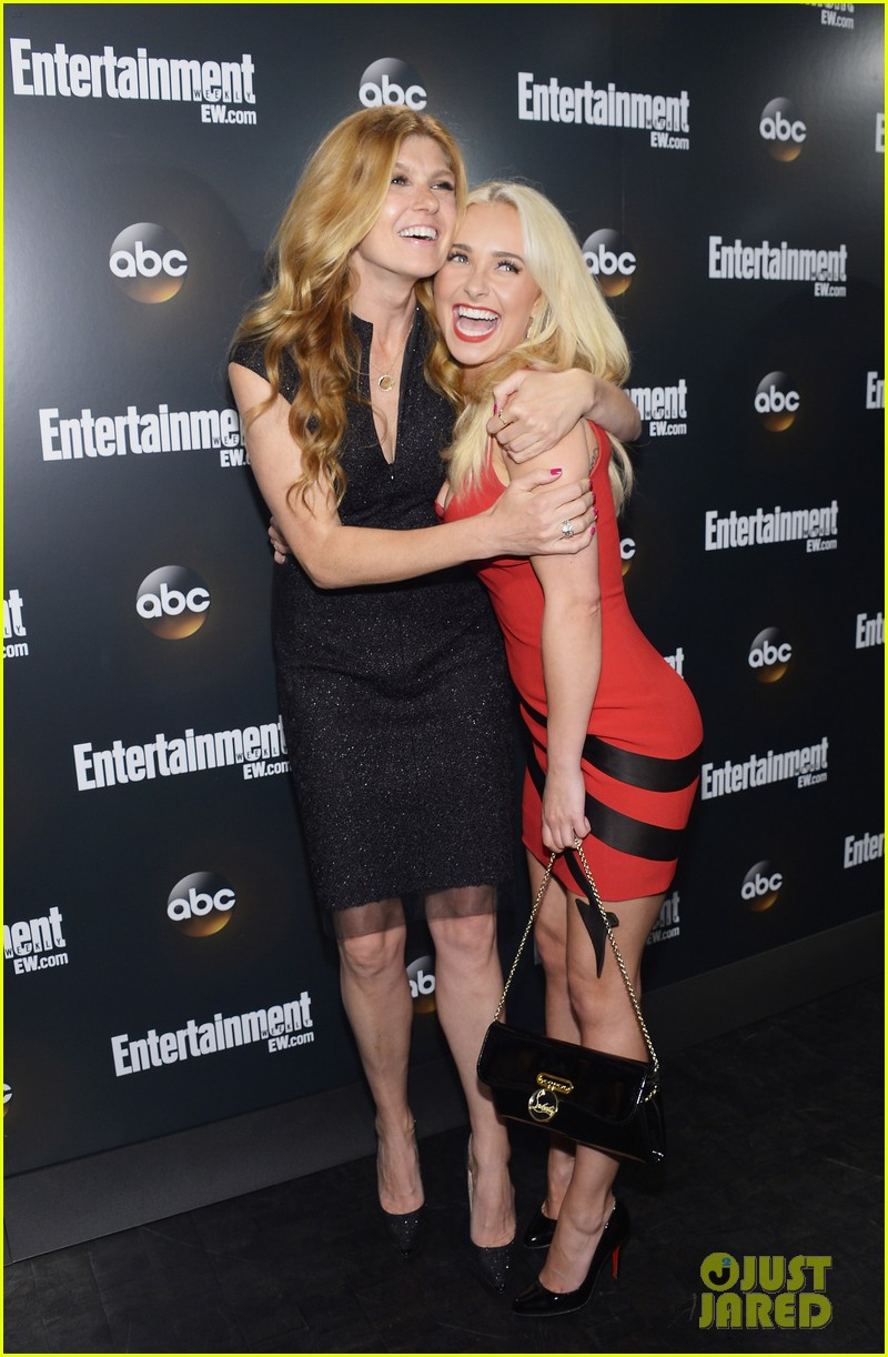 hayden panettiere connie britton abc upfront 01