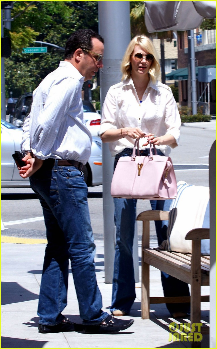 january jones lunch in bev hills 092663922