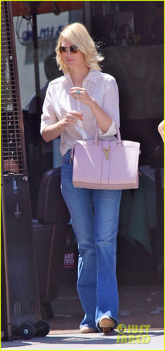 january jones lunch in bev hills 10