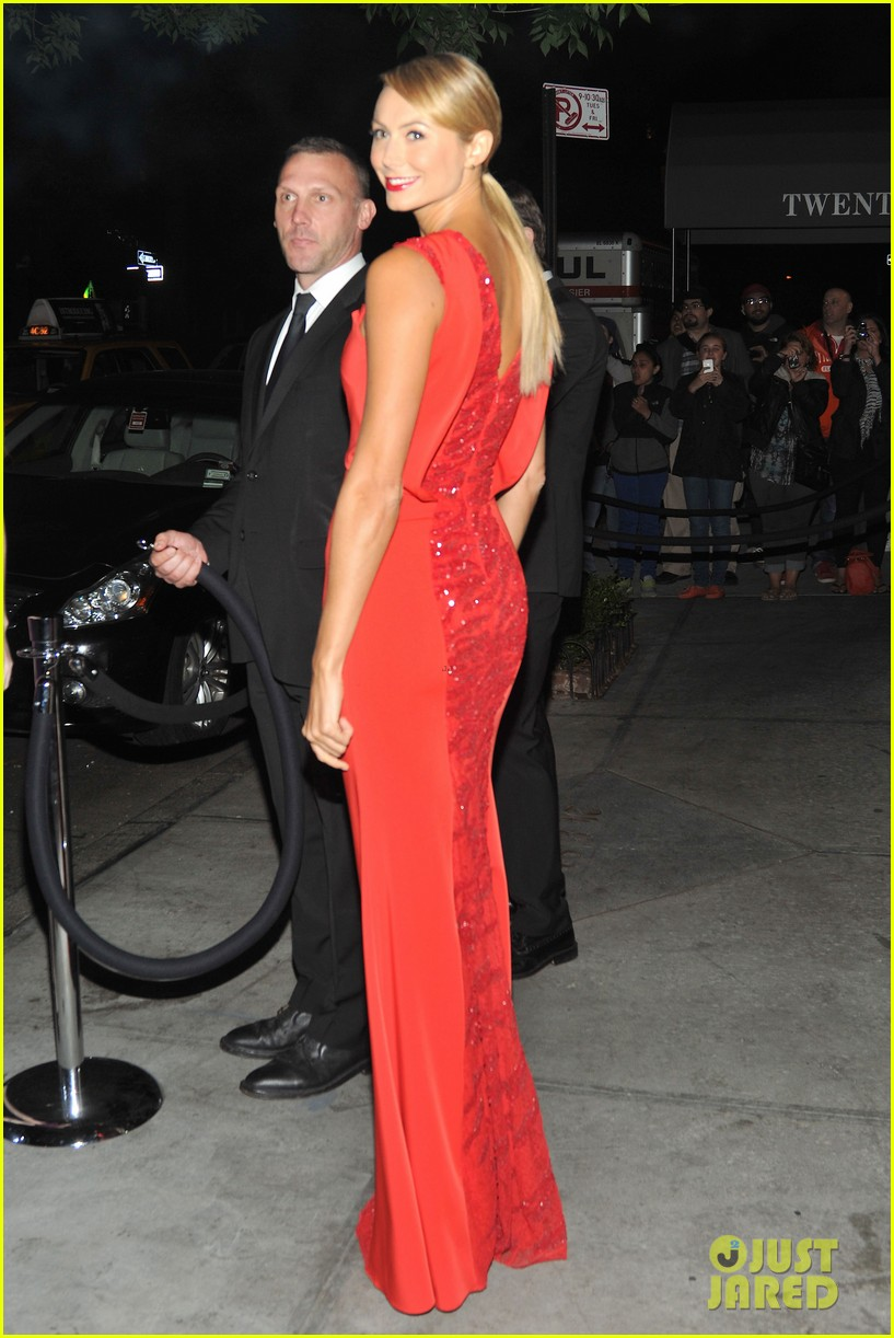 stacy keibler met ball 2012 after party with alex rodriguez 01