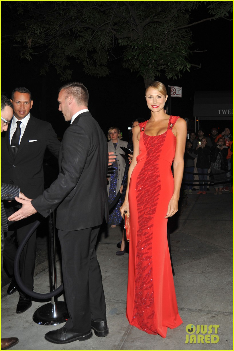 stacy keibler met ball 2012 after party with alex rodriguez 03