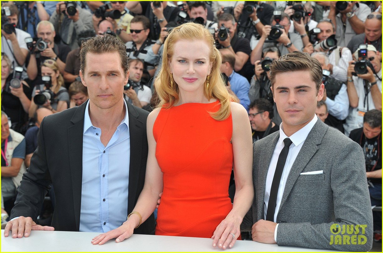 nicole kidman zac efron paperboy photo call 02