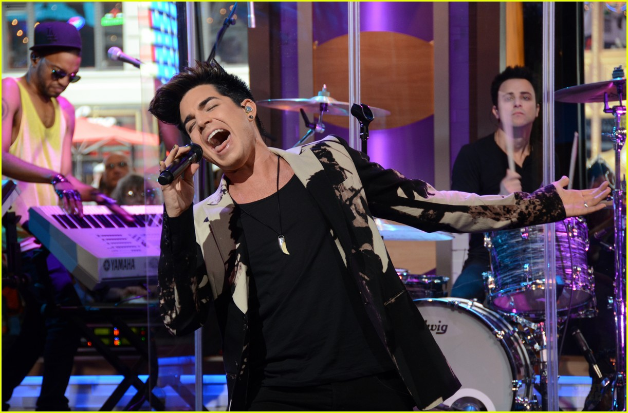 adam lambert good morning america 11