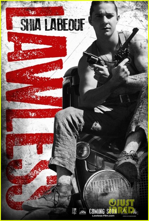 shia labeouf lawless character posters 03
