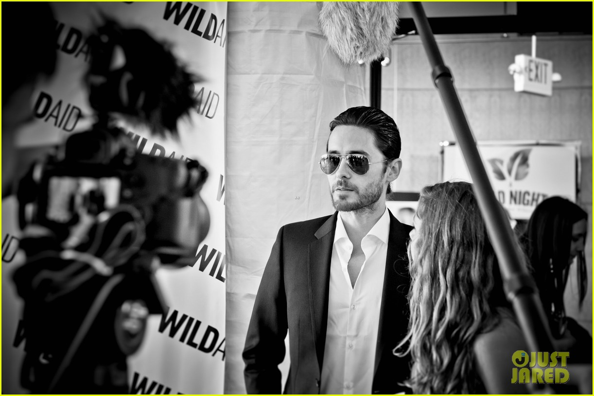 jared leto hayden panettiere wildaid charity gala 10