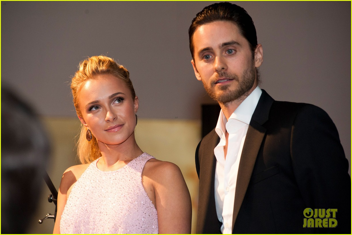 jared leto hayden panettiere wildaid charity gala 13