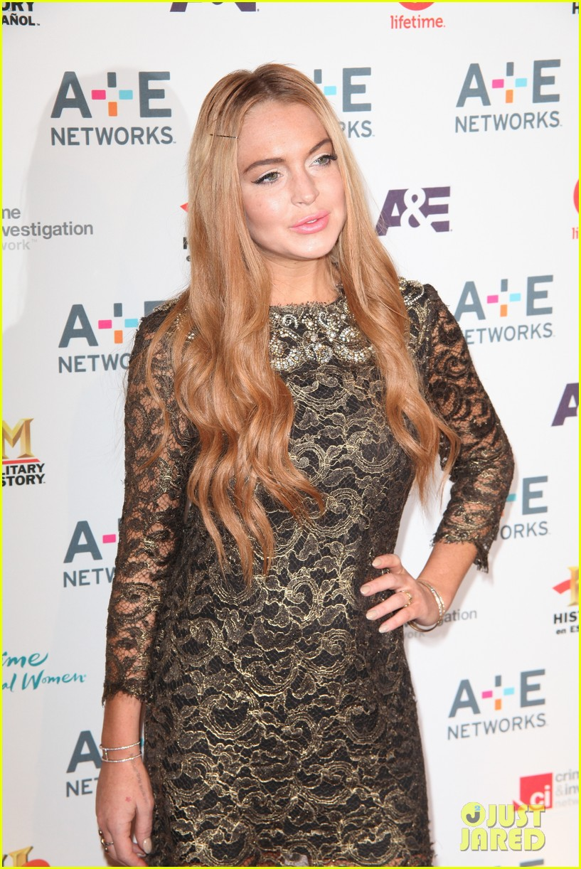 lohan a and e upfronts 11