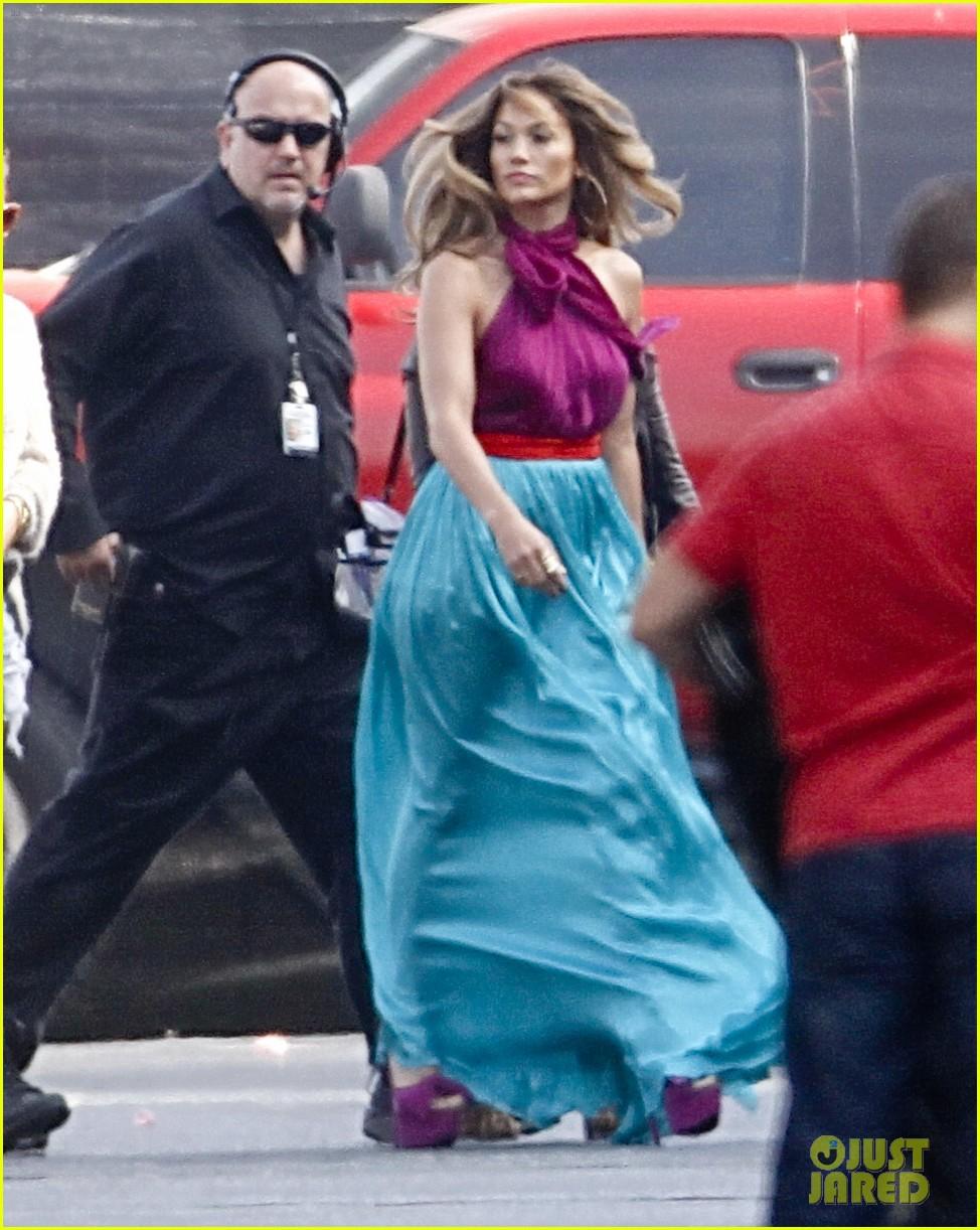 jennifer lopez colorful american idol dress 062663640