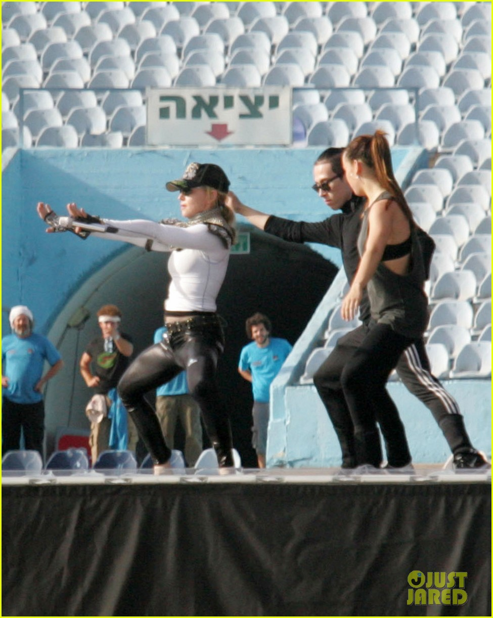 madonna rehearsal tel aviv 02