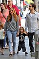 tobey maguire family stroll 07