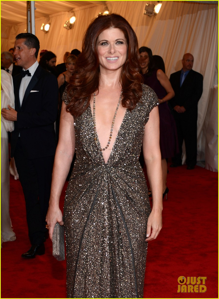 debra messing katharine mcphee met ball 2012 05