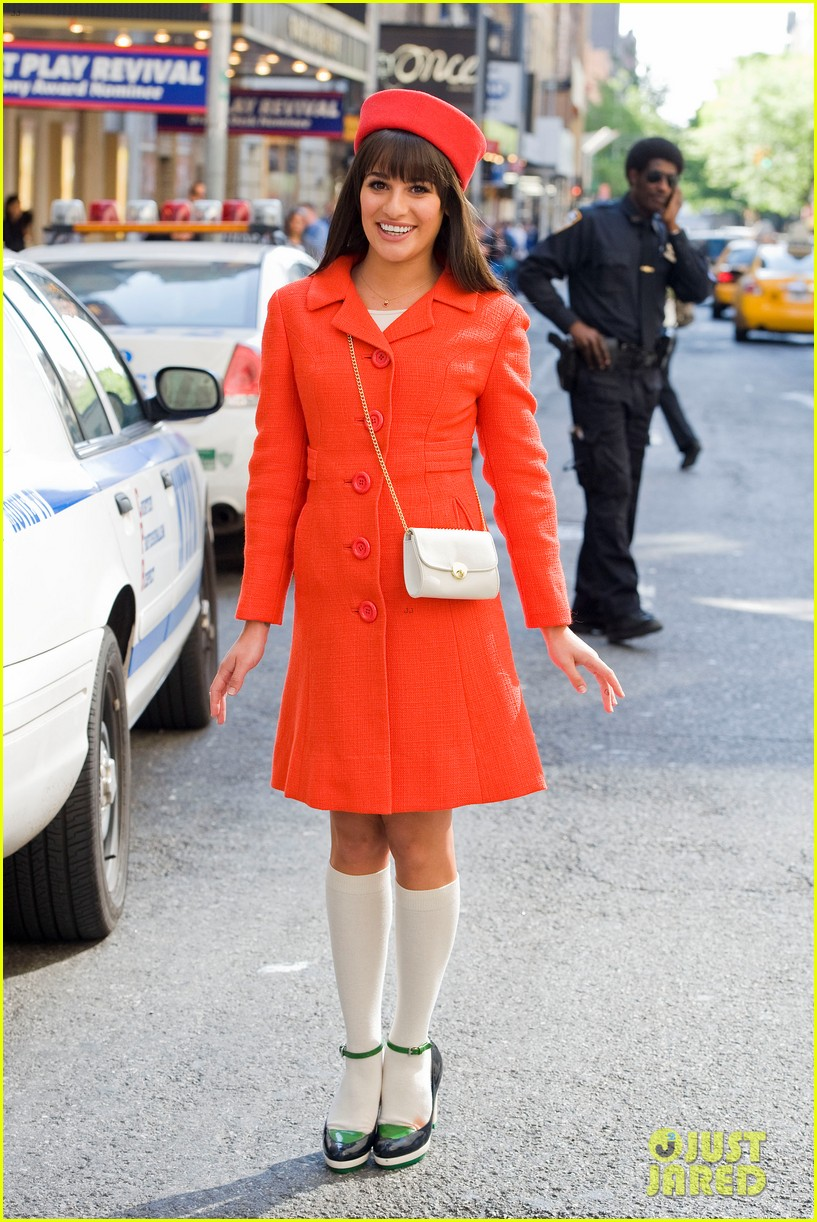 lea michele rachel berry broadway 09