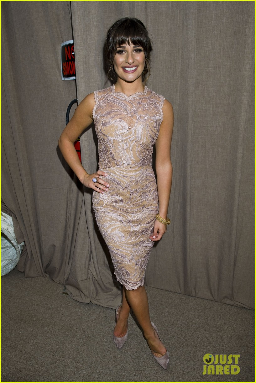 lea michele fox upfronts 16