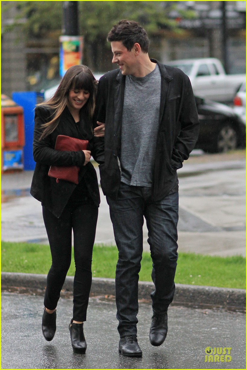 lea michele cory monteith sushi vancouver 14