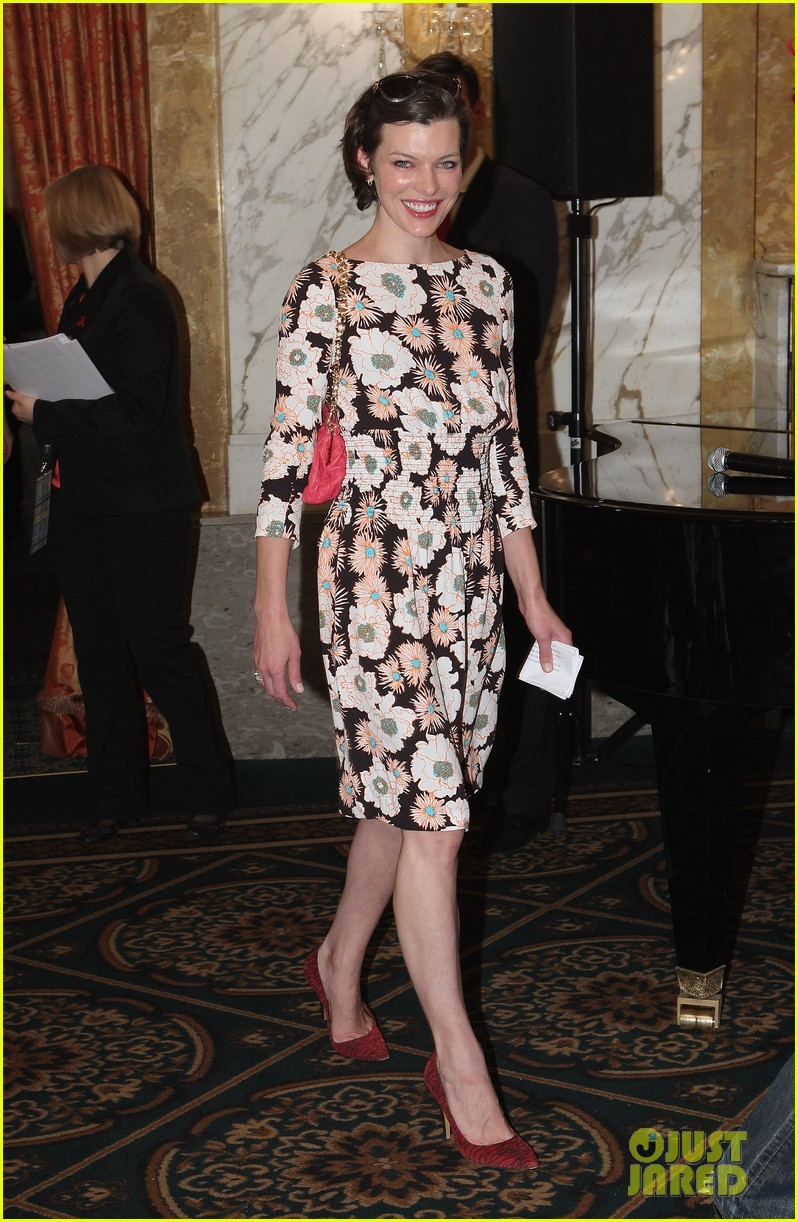 milla jovovich life ball event 12