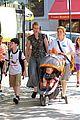 cynthia nixon christine marinoni family stroll 05