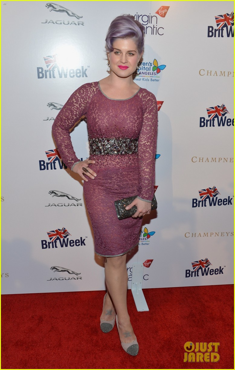 kelly osbourne britweek evening with piers morgan 11