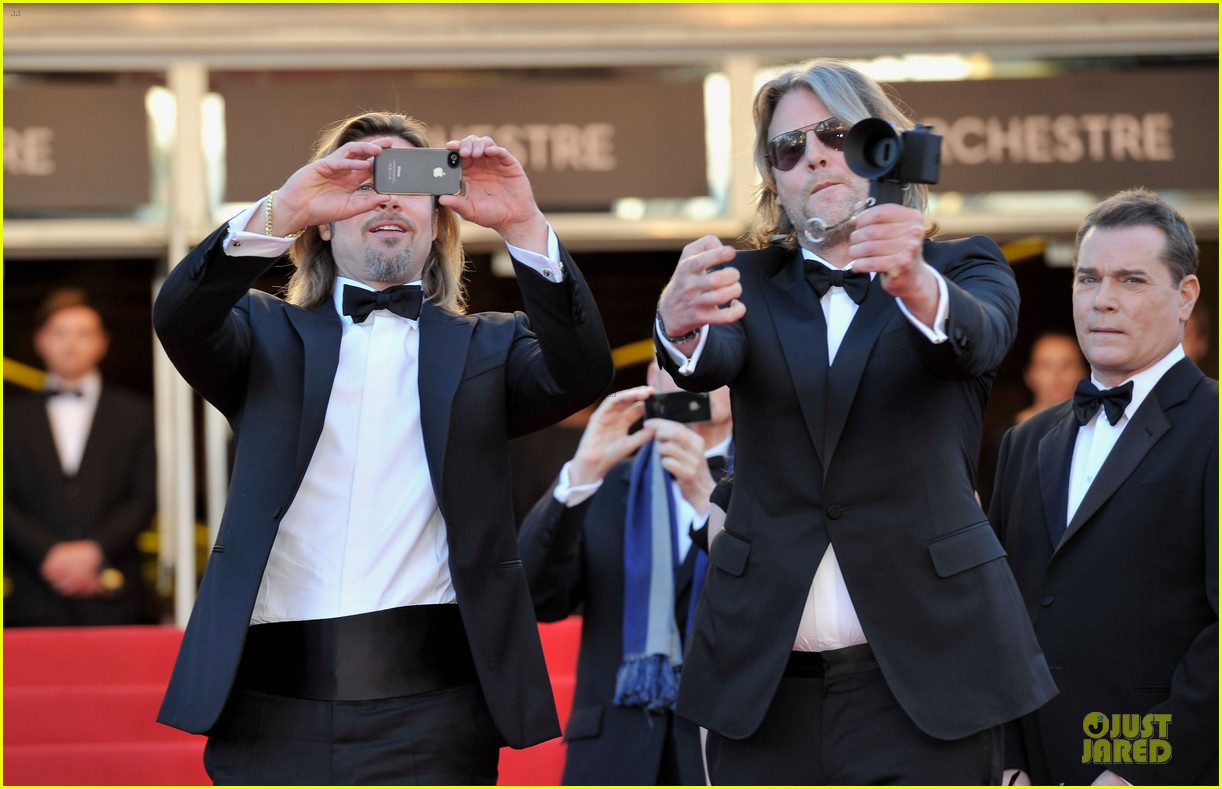 brad pitt killing softly cannes premiere 14