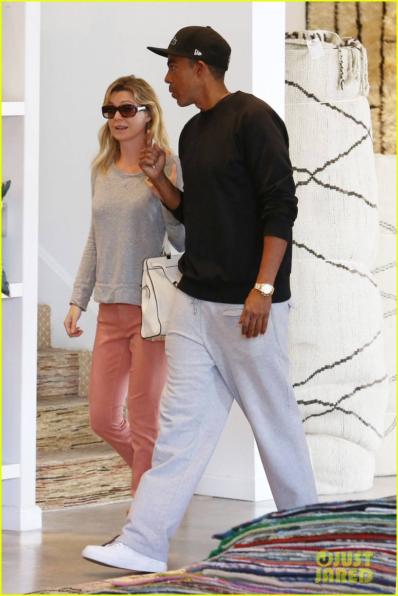 ellen pompeo chris ivery rug shopping 06