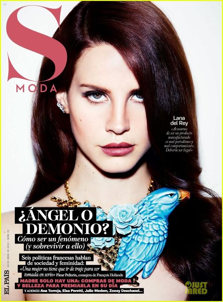 Lana Del Rey Covers 'S Moda' Magazine