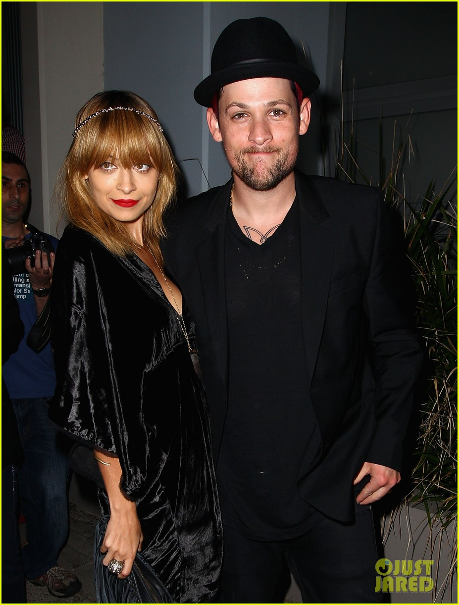 nicole richie joel madden the voice sydney launch party 01