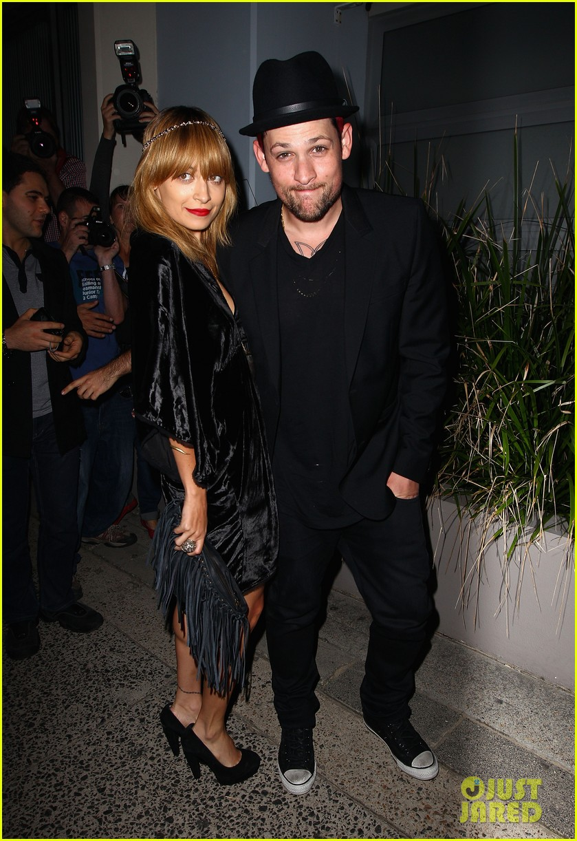 nicole richie joel madden the voice sydney launch party 06
