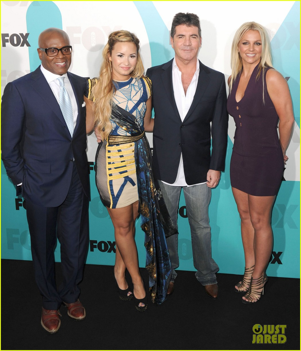 britney spears demi lovato fox upfronts 02