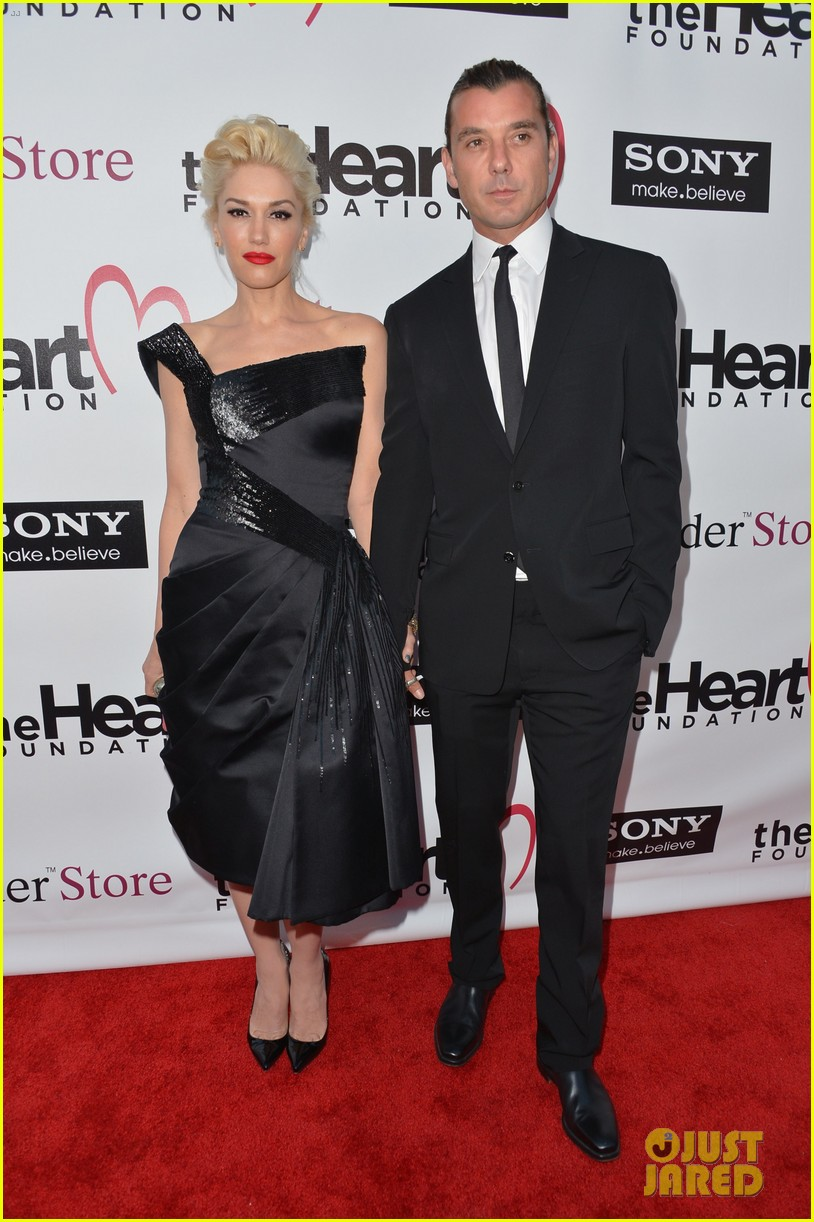 gwen stefani gavin rossdale heart foundation gala 07