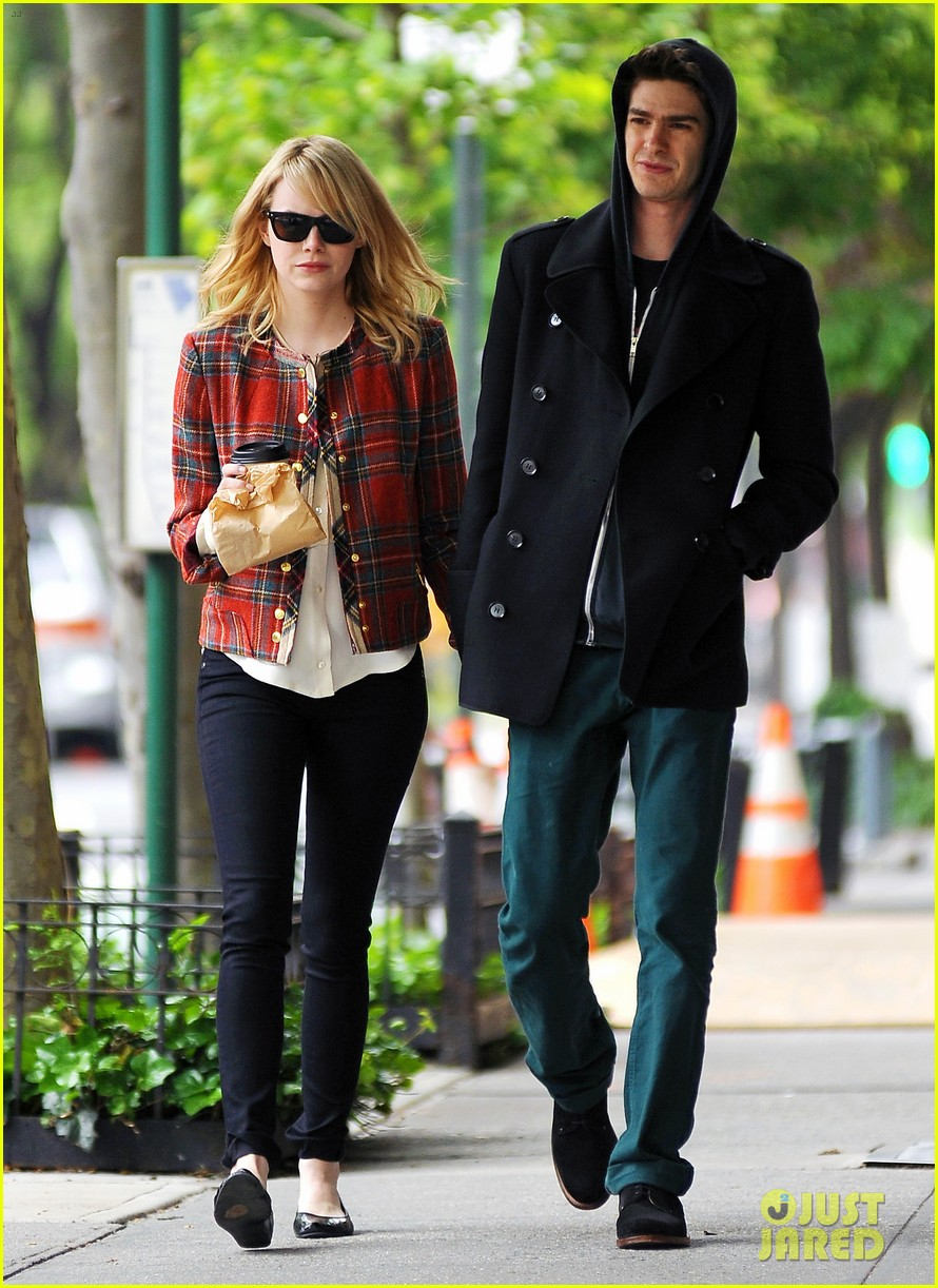 emma stone andrew garfield spider man trailer 052656909