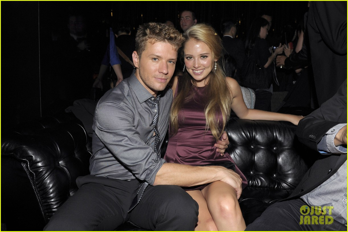 Ryan Phillippe with beautiful, Girlfriend Paulina Slagter
