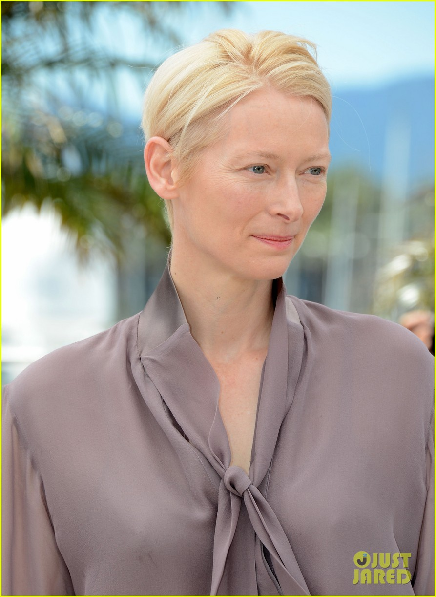 tilda swinton moonrise kingdom photo call 11