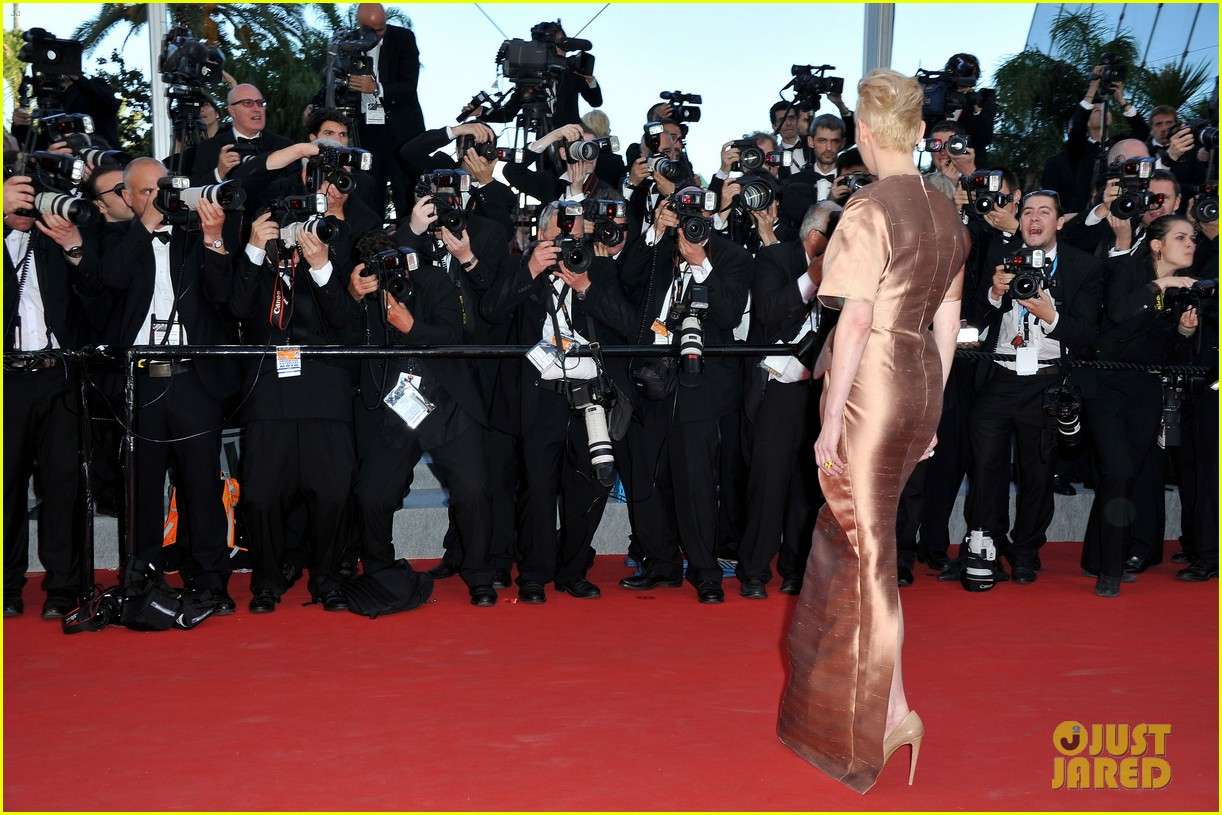 tilda swinton bruce willis moonrise kingdom premiere cannes 10