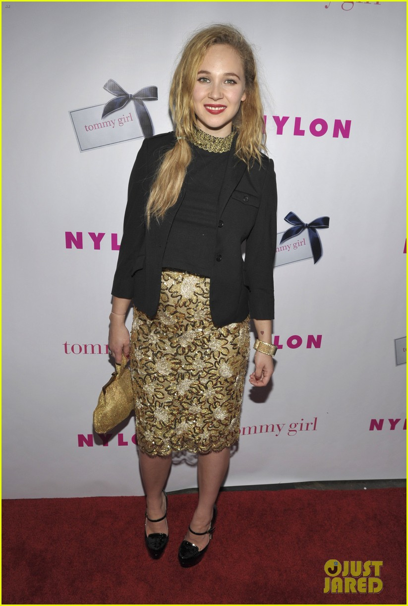 june temple emily browning nylons young hollywood party 11