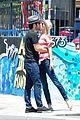 emily vancamp joshua bowman melrose kiss 02.