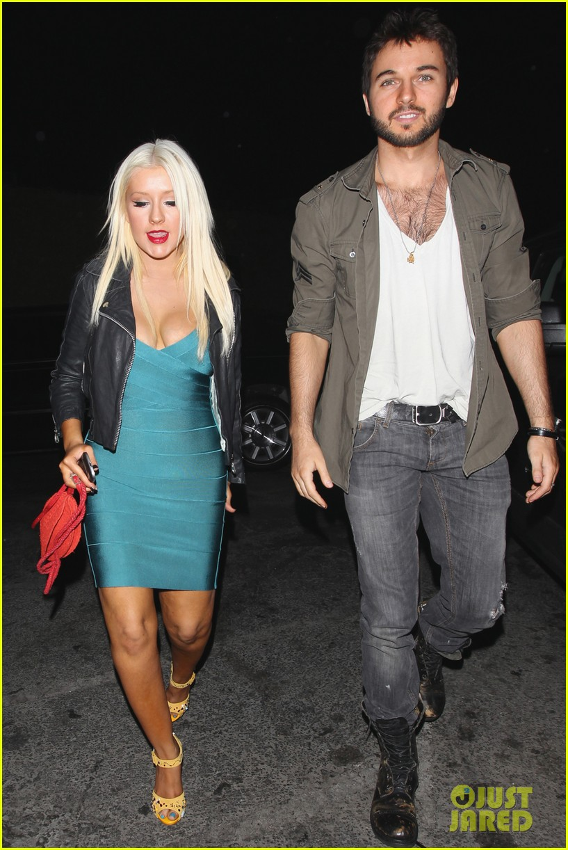 christina aguilera date night 03
