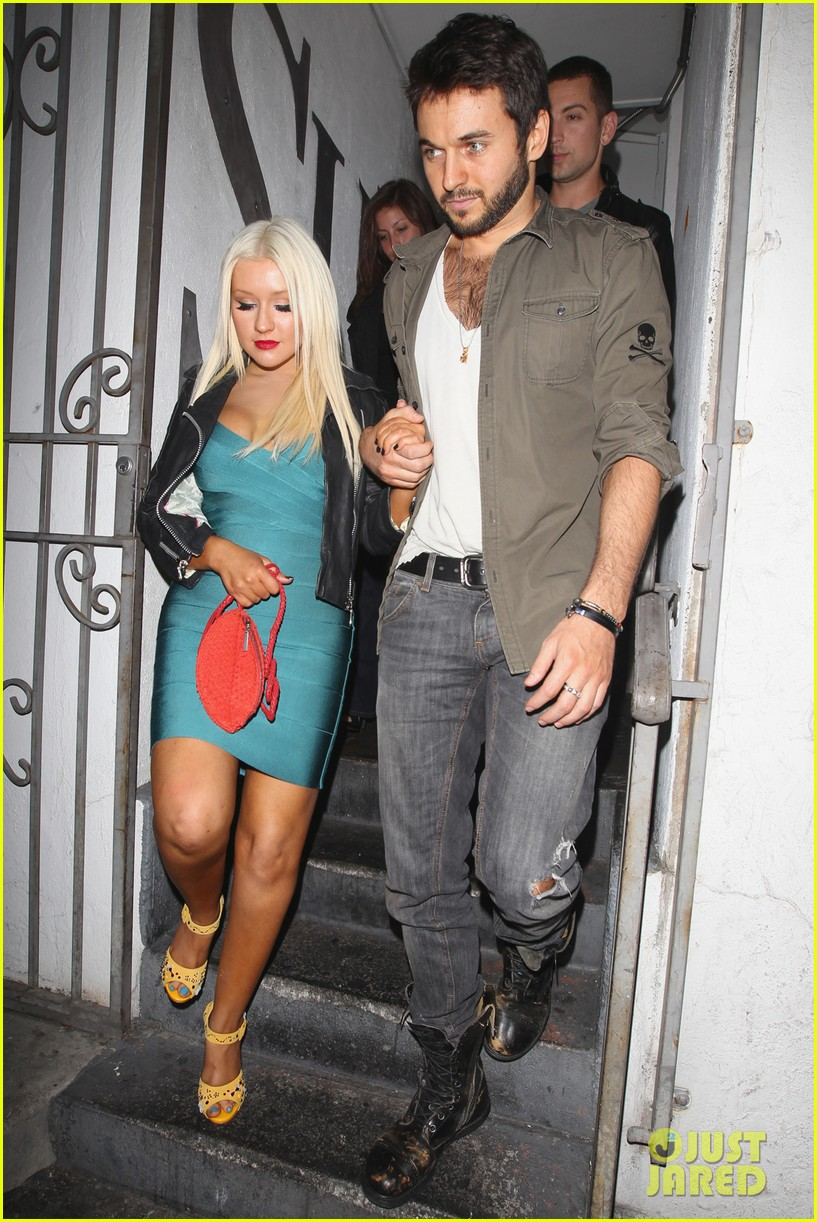 christina aguilera date night 05