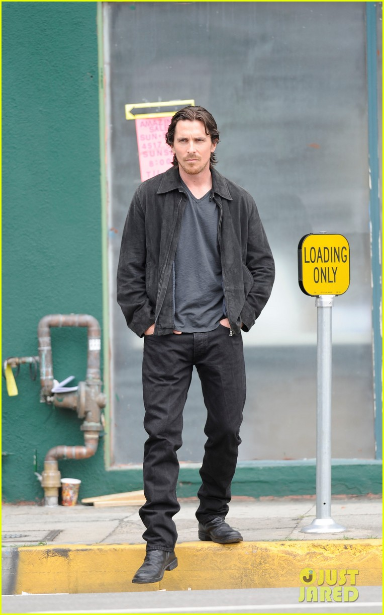 Natalie Portman & Christian Bale: 'Knight of Cups' Convertible